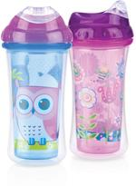 Nuby 2pk Clik-It Insulated Cool Sipper 9oz 18mo+