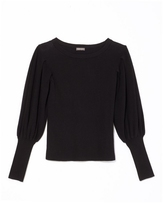 Vince Camuto Bishop-sleeve Sweater