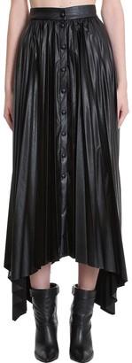 Isabel Marant Davies Skirt In Black Synthetic Fibers