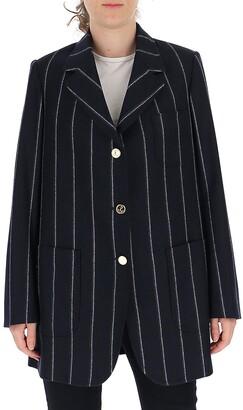 Thom Browne Pinstripe Oversized Blazer