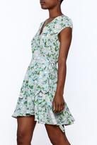 Entro Floral Wrap Dress