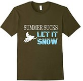 Lego Men's Summer Sucks Let It Snow T-Shirt Medium