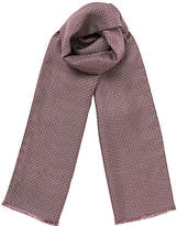 Jigsaw Silk Wool Gingham Scarf
