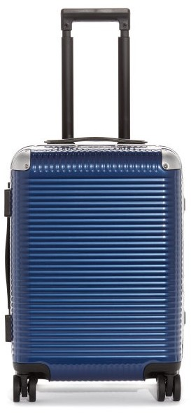 FPM Milano Bank Light Spinner 53 Trunk Suitcase - Blue