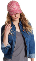 Magid Geo Pattern Straw Baseball Hat
