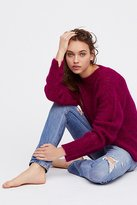 Free People Fluffy Crew Sweater
