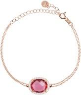 Latelita Beatrice Bracelet Rose Gold Pink Tourmaline