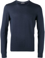 Barba crew-neck jumper - men - Silk/Cashmere - 48