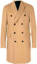 Paul Smith double-breasted coat - men - Cupro/Cashmere/Wool - 50