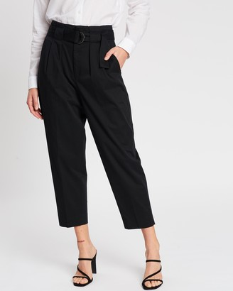 Banana Republic High-Rise Tapered Pants