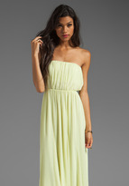 Alice + Olivia Chase Strapless Maxi Dress