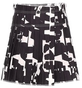 Isabel Marant Kib Printed Cotton Skirt