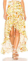 Spell & The Gypsy Collective Sayulita Frill Split Skirt