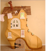 Whimsical Shoe Armoire