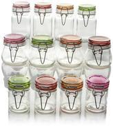 Kinetic Glassworks 12-piece Mini-Jar Storage Set - Large