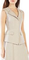 BCBGMAXAZRIA Zip-Front Vest