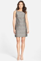 Adrianna Papell Jacquard Print Dress 41907990