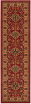 "Nourison Andalusia AND08 Red 2'2"" x 7'6"" Runner Rug"