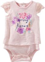 Osh Kosh Oshkosh Short Sleeve Bodysuit -Baby Girls
