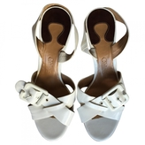 Chloé White Patent leather Sandals