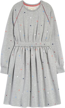 Tucker + Tate Kids' Print Long Sleeve Dress