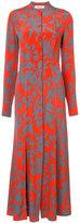 Diane von Furstenberg long floral dress