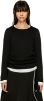 Comme des Garcons Black Layered Crewneck Sweater
