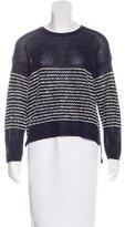 Inhabit Wool-Blend Striped Sweater