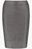 Supertrash Skirt Silver Black