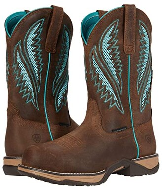 Ariat Anthem VentTEK Round Composite Toe (Java) Cowboy Boots