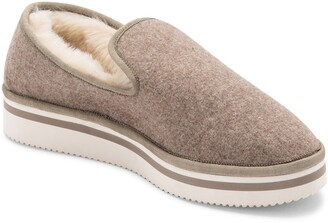 Dolce Vita Herve Faux Fur Lined Loafer Slipper