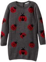 Dolce & Gabbana Back to School Lady Bug Sweater Dress (Toddler/Little Kids)