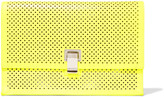 Proenza Schouler Perforated leather clutch
