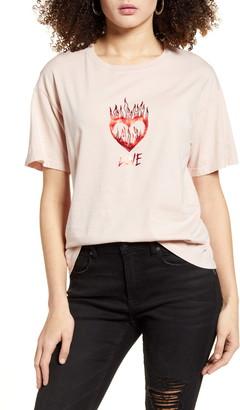 DAY Birger et Mikkelsen Love Flaming Heart T-Shirt
