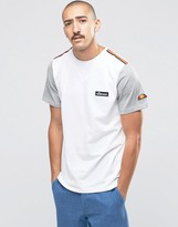 Ellesse T-Shirt With Contrast Sleeves