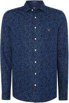 Gant Leaf-print Long-sleeve Shirt