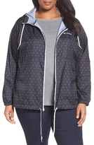 Columbia Plus Size Women's Flash Forward Print Hooded Jacket