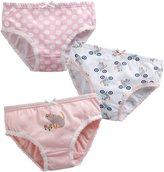 Vaenait Baby 2T-7T Girls Briefs 3-Pack Underwear Set Cat XL