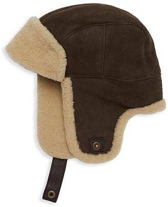 UGG Sheepskin Trapper Hat