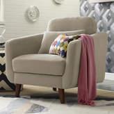 Elle Decor Chloe Mid-Century Modern Armchair