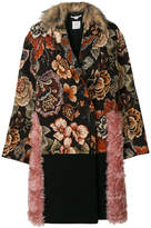 Stella McCartney fur free tapestry coat
