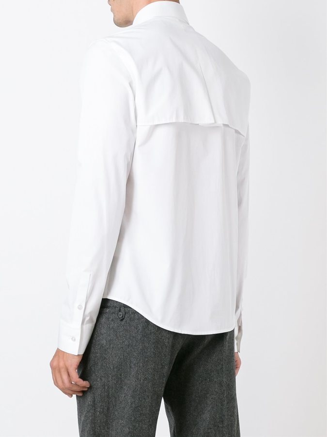 Chalayan flap shirt