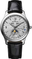 Jaeger Le Coultre 1558421 Master Calendar Stainless Steel And Leather Watch