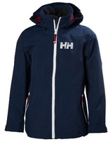 Helly Hansen Boy's Jr. Rigging Hooded Waterproof Jacket