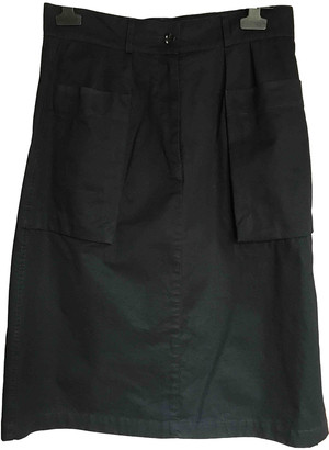 Margaret Howell Navy Cotton Skirts