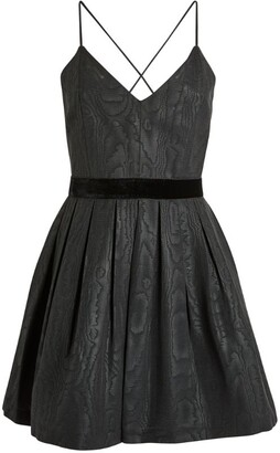 Alice + Olivia Alice+Olivia Madison Pleated Mini Dress