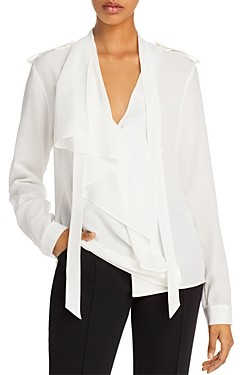 Barbara Bui Silk Flowing Blouse