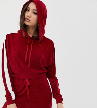 Asos DESIGN Tall sporty side stripe hoodie