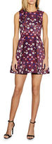 Cynthia Rowley Sleeveless Floral Printed Fit and Flare Dress