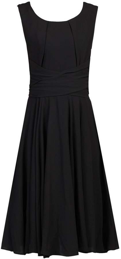 Dorothy Perkins Womens *Jolie Moi Black Belted Skater Dress